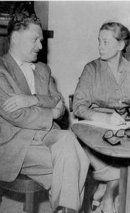 Nazim Hikmet e Joyce Lussu