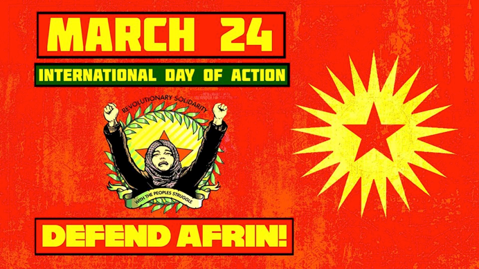 AFRIN IS NOT ALONE! WORLD DAY FOR AFRIN MARCH 24 - Global Rights