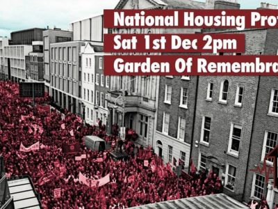 12598c96d3 IRELAND  National Demonstration On The Housing Crisis