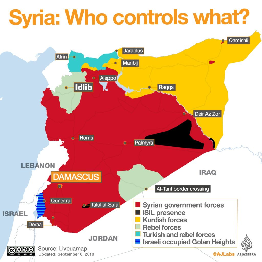 The battle of Idlib Province in Syria is decisive and crucial for the future of Rojava - Global Rights